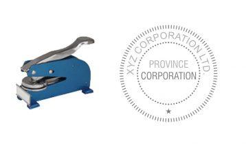 Long Reach Corporate Desk Seal (Province)