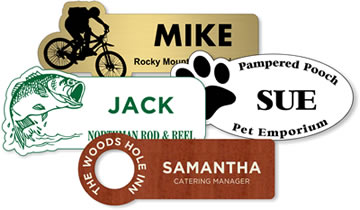 Engraved Plastic Name Tags Amp Badges