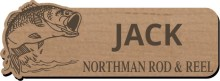 Wood Engraved Name Badges and Tags