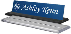 Acrylic Desk Base Engraved Signs