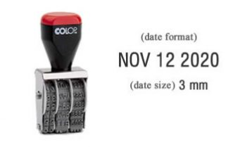 03000 Date Stamp