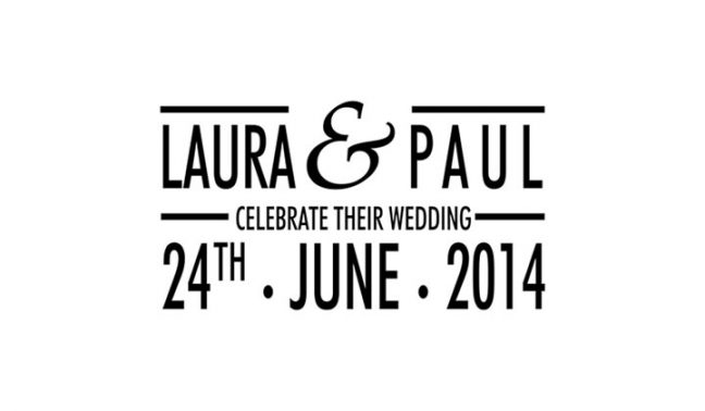 Celebrate Rectangle Wedding Stamp