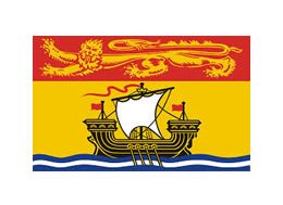 New Brunswick Commissioner for Oaths Ruber Stamps