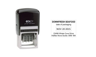 Colop Printer 53 Self-Inking Date Stamp