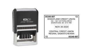 Colop Printer 55 Self-Inking Date Stamp