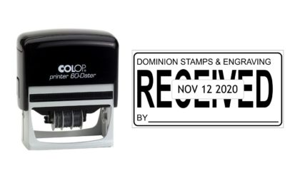 Colop Printer 60 Self-Inking Date Stamp