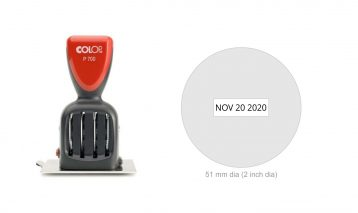 Colop P700/19 Die Plate Date Stamp
