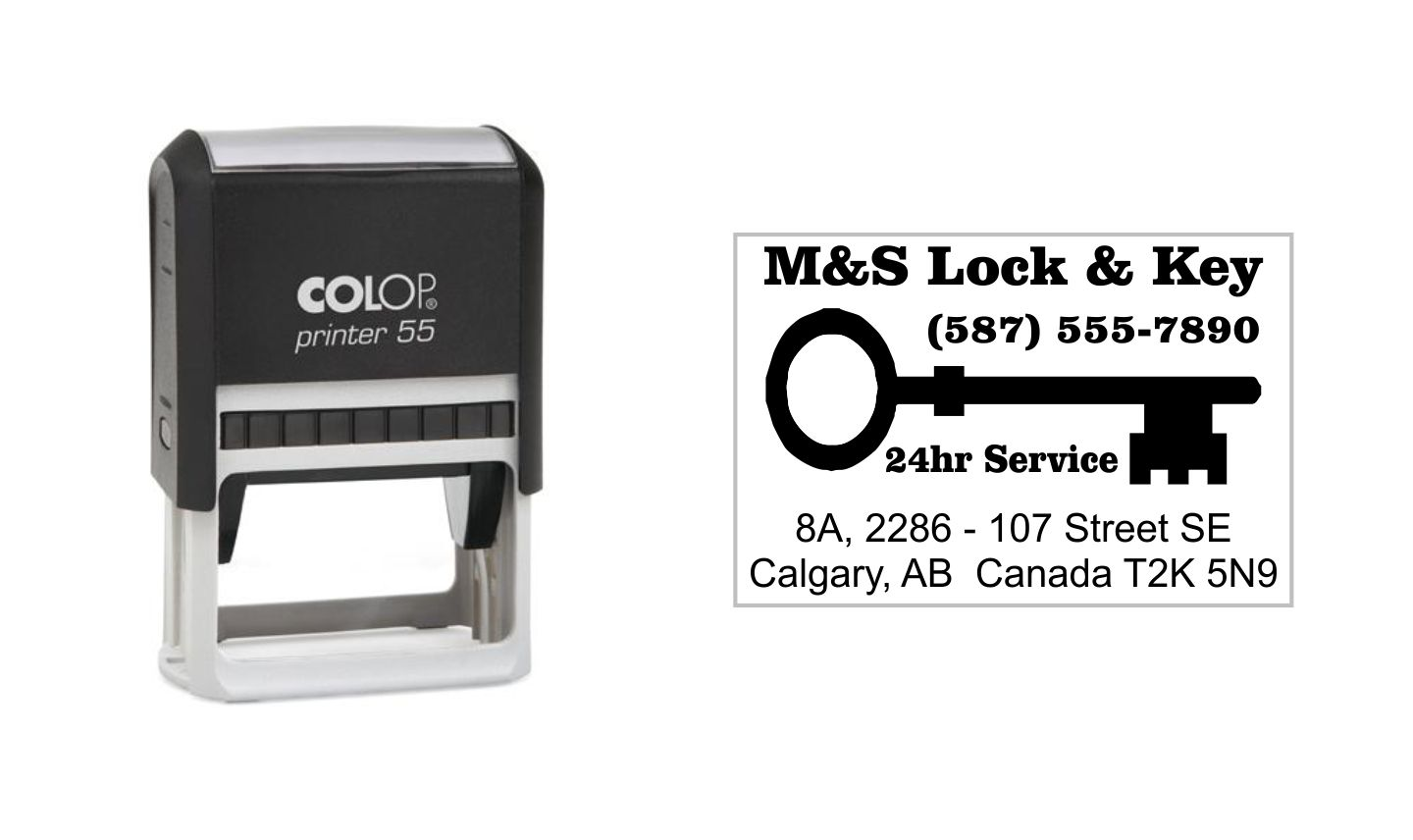 Colop Printer 55 Self Inking Stamp