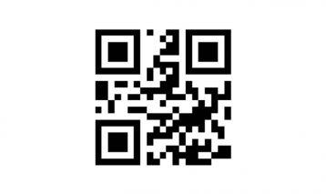 QR Code Phone Number Stamp