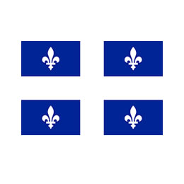 Quebec Commissioner for Oaths Rubber Stamps