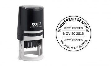 Colop R50 Self-Inking Date Stamp