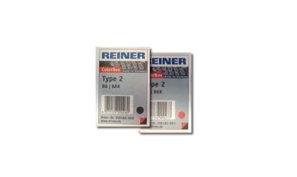 Reiner Type 2 Color Box Replacement Ink Pads