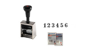 Reiner B6 Automatic Numbering Machine Stamp