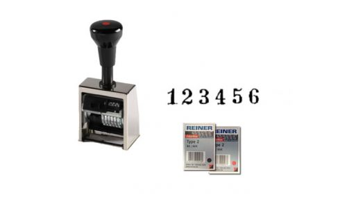 Reiner B6 Automatic Numbering Machine Stamp