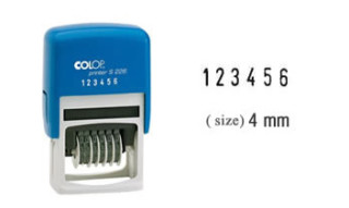 Colop S226 Self-Inking Numbering Stamp