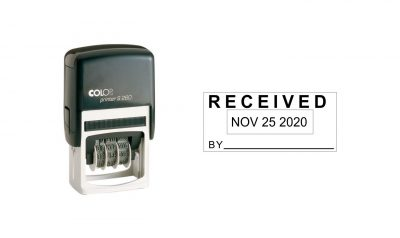 Colop S260 Self-Inking Date Stamp