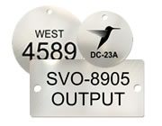 Laser Etched Stainless Steel Tags