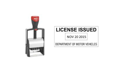 Colop Classic 2460 Heavy Duty Self-Inking Date Stamp