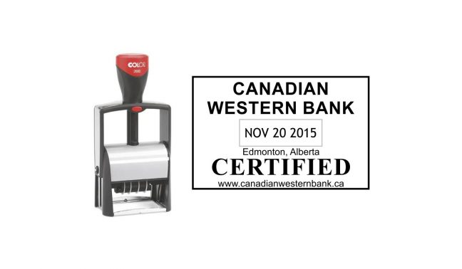 Colop Classic 2660 Heavy Duty Self-Inking Date Stamp