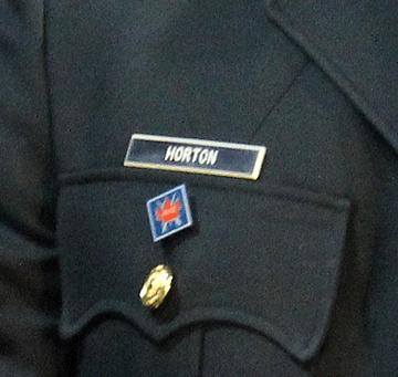 Canadian Army Navy Deu Name Tag