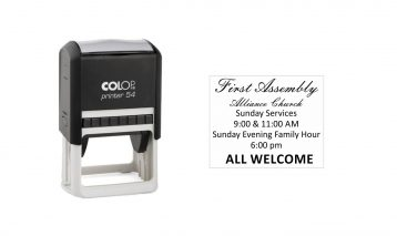 Colop Printer 54 Self-Inking Stamp