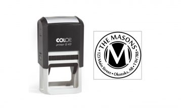 Colop Printer Q43 Self-Inking Stamp