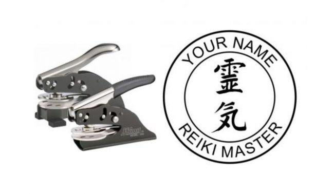 Reiki Master Embossing Seal