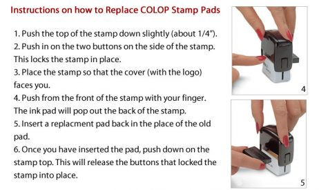 Replace Colop Stamp Pads How To