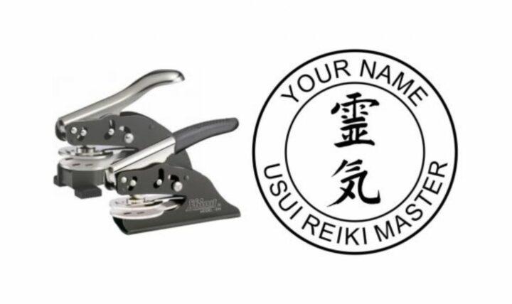 Usui Reiki Master Embossing Seal