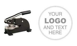 2 inch Long Reach Custom Logo Embosser