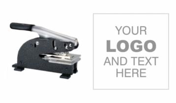 2x2 inch Custom Logo Long Reach Embosser