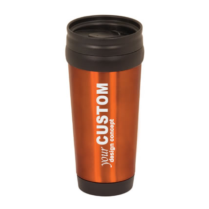 16oz stainless steel travel mug