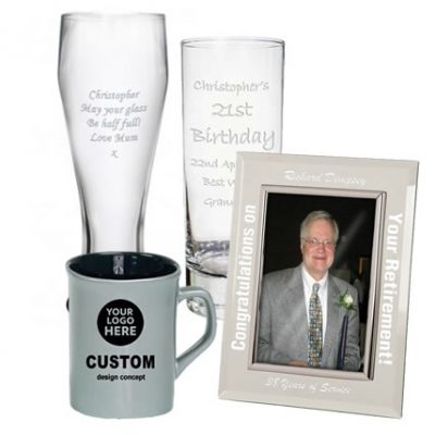 Glass and Ceramic Engraved Products