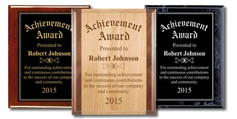 Corporate Presentation Plaques
