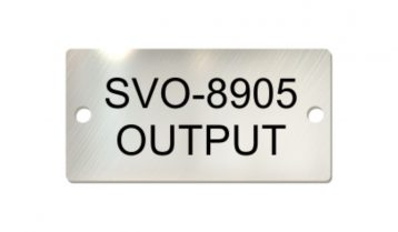 3 x 1 1/2 inch Laser Engraved Stainless Steel Tags