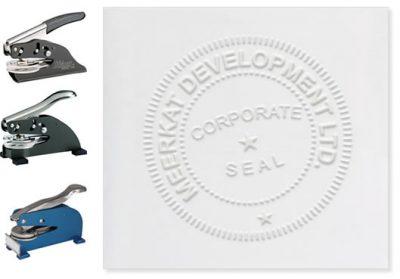 Corporate Embossing Seals