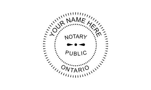 Ontario Notary Seal