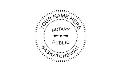 Saskatchewan Notary Public Embossing Seal