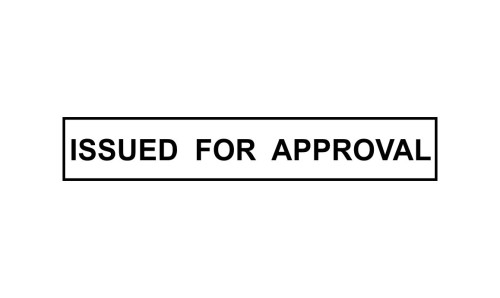 Issued for Approval