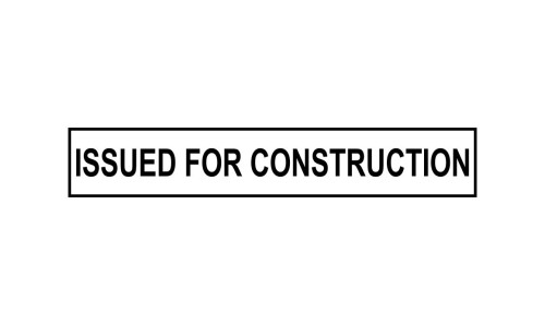 Issued for Construction