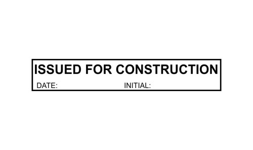 Issued for Construction Initials P25