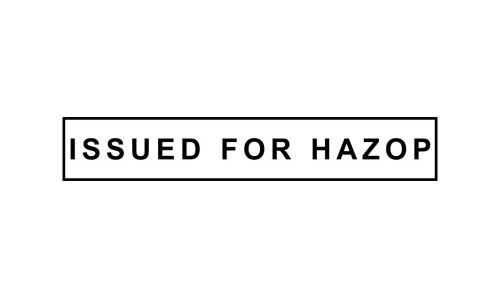 Issued for Hazop