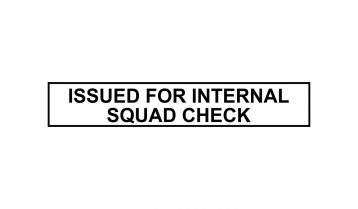 Issued For Internal Squad Check Stamp
