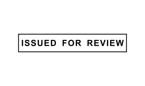 Issued for Review