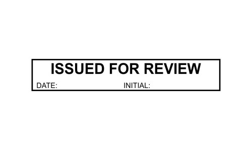 Issued for Review Initials P25