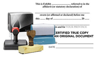 Legal Rubber Stamps
