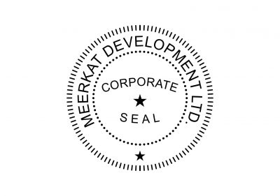 Corporate Seal Stamp