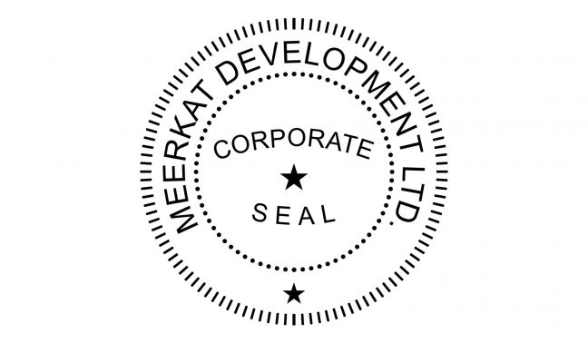 Corporate Seal Stamp
