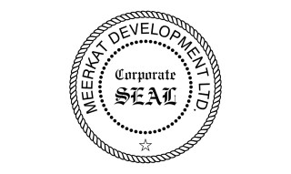 Corporate Seal Stamp Traditional